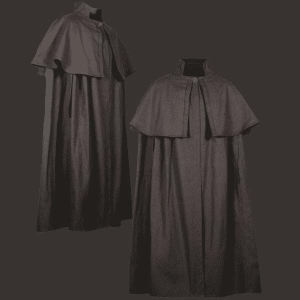 Cloak with Shoulder Cape