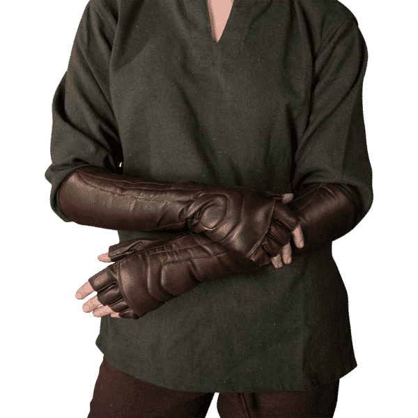 Leather Female Gloves