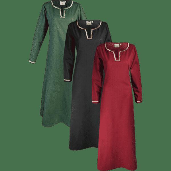 Medieval Cotton Dress