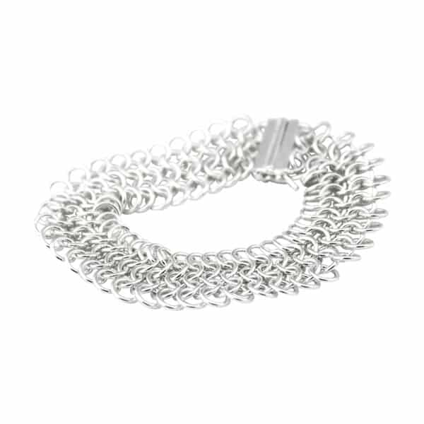 Silver Chainmail Bracelet