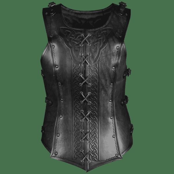 Celtic Leather Cuirass